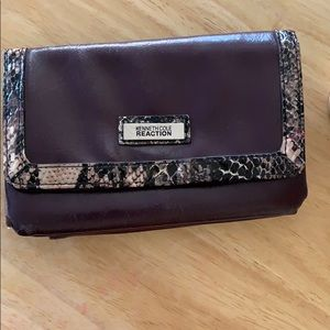 Kenneth Cole Wallet in purple 7.5x5 used